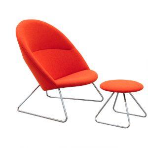 Oda Chair med skammel Udsalg hos Bolighuset Ry