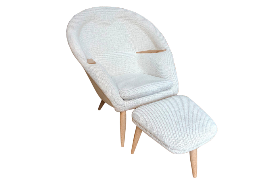 Oda Chair med skammel